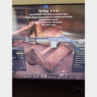 Weapon | Q 50crit 90wr fixer
