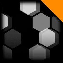 Hex Tide   Orange