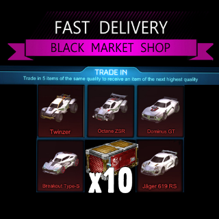 Bundle | 10x PCC trade Up Imports
