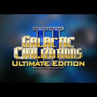 Galactic Civilizations II - Ultimate Edition STEAM GLOBAL