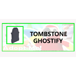 Tombstone Adopt Me Roblox Pet Tombstone Ghostify In Game Items Gameflip