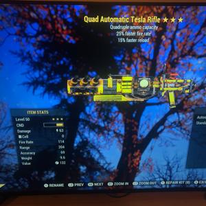 Weapon | Quad FFR FR Tesla Rifle
