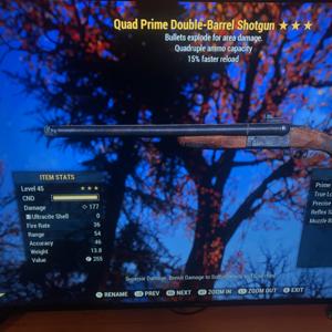 Weapon | Quad Explosive Prime Shotgun