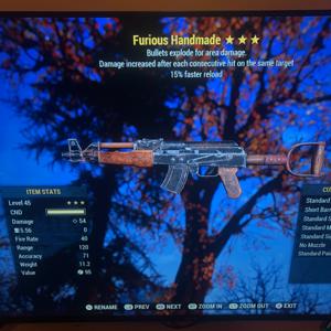 Weapon | Furious Explosive Handmade