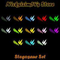 Bundle | Stegosaur Set