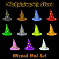 Bundle | Wizard Hat Set