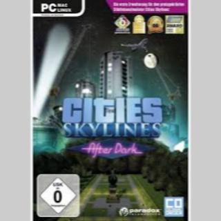 Cities Skylines + After Dark DLC [STEAM INSTANT]