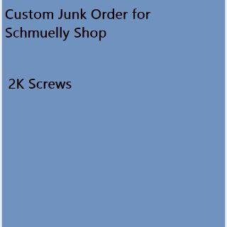Junk | Order for Schmuelly