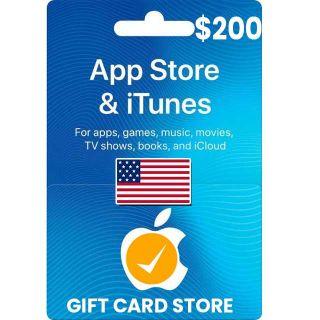 $200.00 iTunes