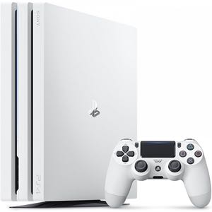 White PS4 Pro 1TB