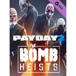 PAYDAY 2: The Bomb Heists DLC Steam CD Key