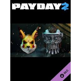 PAYDAY 2 Electarodent And Titan Masks DLC Steam Key
