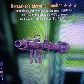Weapon | Berserker's Launcher