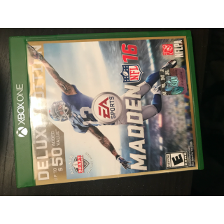 madden 16 deluxe edition xbox one