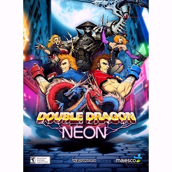 Double Dragon Neon Automatic Delivery Steam Games Gameflip
