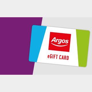 £10.00 Argos UK