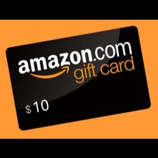 $10.00 Amazon US