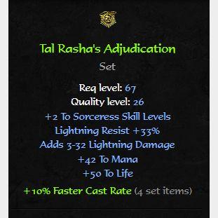 Uniques   Tal Rasha's Adjudication