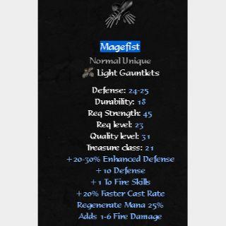Uniques   Magefist