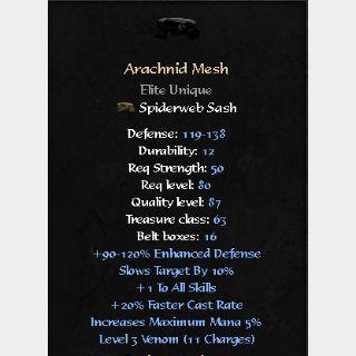 Uniques   Arachnid Mesh