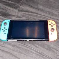 Nintendo switch - red blue - new - 0 scratches