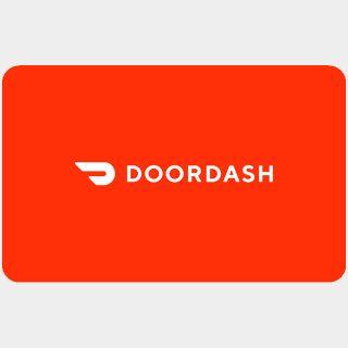 $25.00 DoorDash us