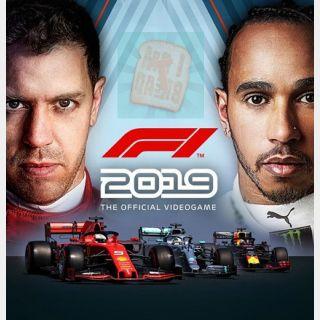 F1 2019 Anniversary Edition Steam key Instant