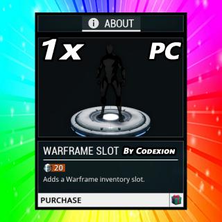 Other | 1x Warframe Slot PC