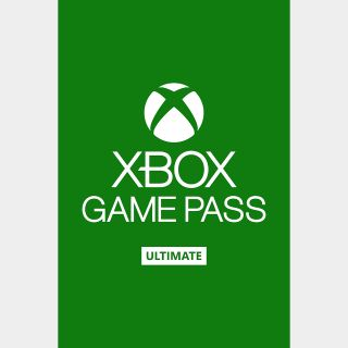 Xbox Game Pass Ultimate 1 month (Global), instant