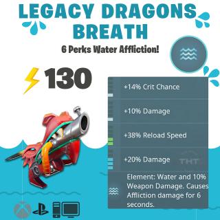 Dragon's Breath | 💧130 Legacy Water💧