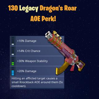 Dragon's Roar | 130 Legacy SunBeam AOE!