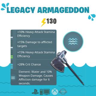 Laser Axe | 130 Legacy Armageddon💧