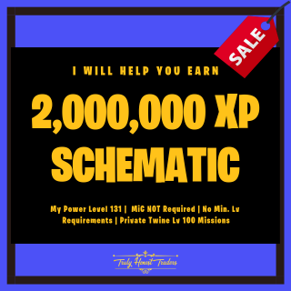 I will help you get Schematic XP in Lv 100 Twine missions in this Fortnite Gig