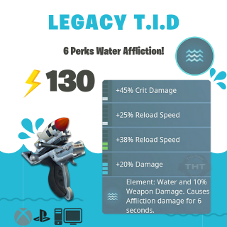 Tiny Instrument Of Death | 💧130 Legacy Water💧