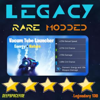 Vacuum Tube Launcher | 1x130 Legacy Energy