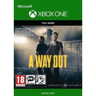 A Way Out - EUROPE - INSTANT