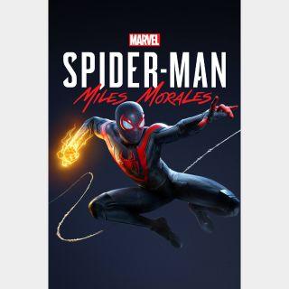 Spider-Man Miles Morales - Pre-order Bonus Europe PS4/PS5