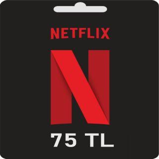 75 TL - Netflix Gift Card Turkey - Unlimited Stock