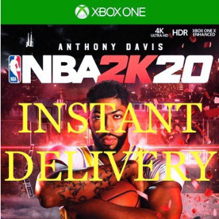 INSTANT DELIVERY   NBA 2K20   XBOX ONE