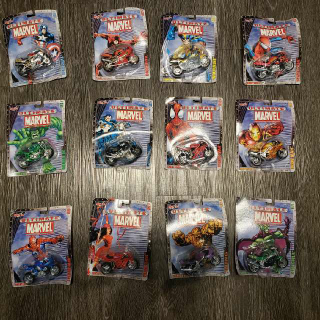 Ultimate Marvel Motorcycle Collection Series 1