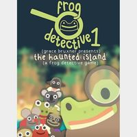The Haunted Island, a Frog Detective Game *Instant Delivery*