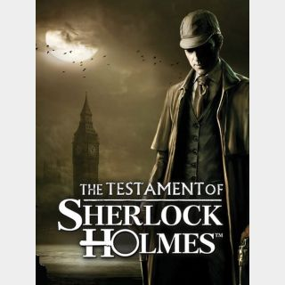 The Testament of Sherlock Holmes *Instant Delivery*