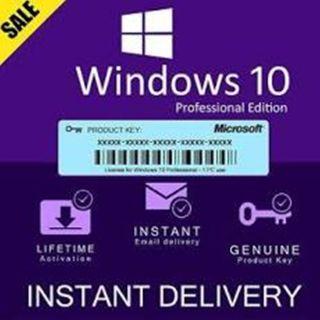 Windows 10 Pro Online Activation 32/64Bit Lifetime