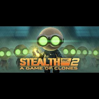 Stealth Inc 2 + Serial Cleaner - Steam Keys