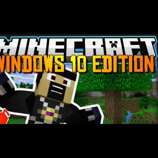 Minecraft Windows 10 Edition Key