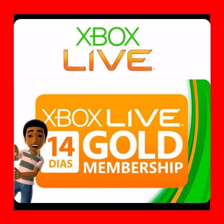 Xbox Live Gold 1 Month (2X14 DAYS)