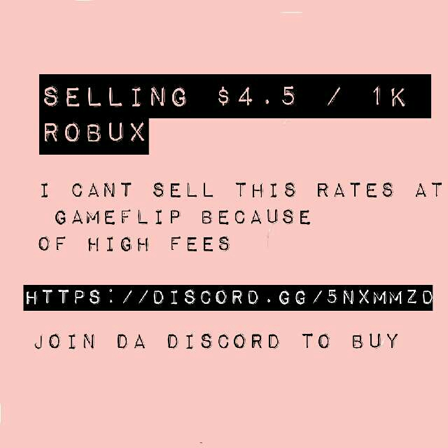 Other | Cheap Robux 1K / $4 5 - In-Game Items - Gameflip