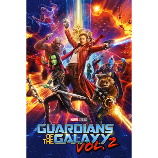 Guardians of the Galaxy Vol. 2 HD - (Instant Delivery) - Redeems via Movies Anywhere