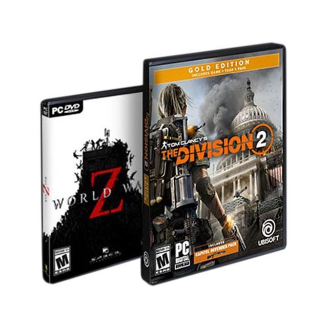 The Division 2 Gold Edition World War Z Instant Delivery