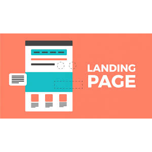 I will create landing page